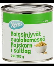 X-tra Maissinjyvät suolaliemessä 340/285 g