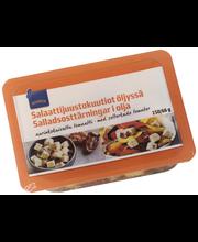 Rainbow Salaattijuustokuutiot öljyssä aurinkokuivattu tomaatti 150/66 g