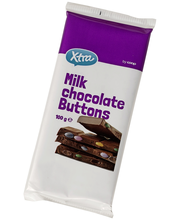 X-tra Milk chocolate buttons 100 g