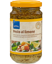 Pesto al limone sitruunapesto 190g