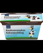 Kaakaovanukas vaniljan makuisilla täplillä 250 g