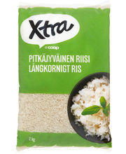 Long grain rice, 2 kg