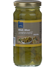Green Olives stuffed with lemon paste 235.00 gram