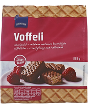 Chocolate wafers w. ra...