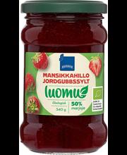 Strawberry Jam Organic 340.00 gram