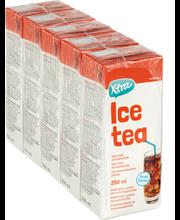 Jäätee persikka 5x250ml