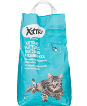 Xtra 5l kissanhiekka paakkuuntuva harmaa bentoniitti