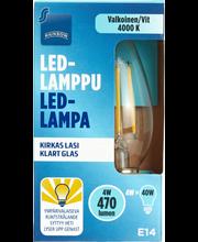 Rainbow LED Candle, E14, 470 LM, 4000K (Clear) 1 H87