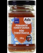 Punainen currytahna 100g