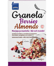 Granola berries almonds