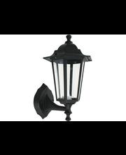 Heat LED Vintage ulkovalaisin IP44 musta