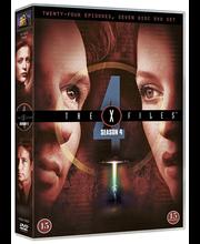 Dvd X-Files 4 Kausi