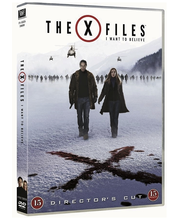 Dvd x-files i want to be