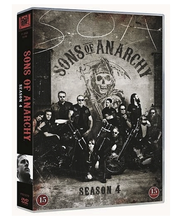 Dvd Sons Of Anarchy 4 Ka
