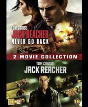 Dvd jack reacher 1+2 box