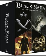 Dvd Black Sails 1-4 Kaud