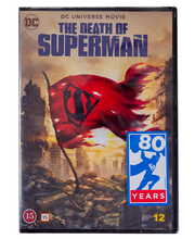 Dvd Death Of Superman