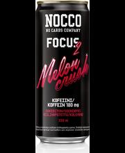 NOCCO Focus 330 ml Mel...