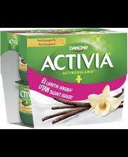 Activia 4x125g vanilj,...