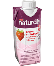 Naturdiet 330ml mansikka shake