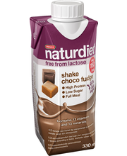 Naturdiet 330ml suklaa-toffee shake