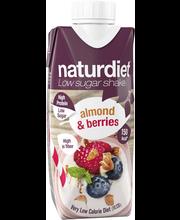 Naturdiet 330ml Almond&Berries shake