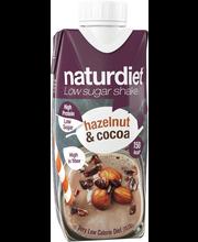Naturdiet 330ml Hazelnut Cocoa shake