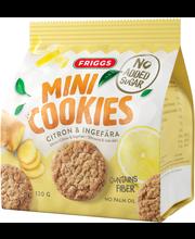 Friggs Sitruuna & Inkivääri Mini Cookie 120g
