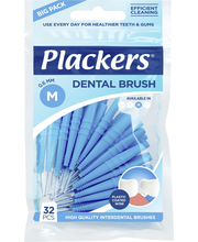 Plackers 32 kpl Hammasväliharja Dental Brush 0,6 mm