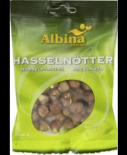 Albina Snacks 100g Hasselpähkinä