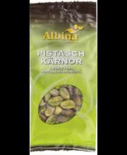 Albina Snacks 50g pistaasipähkinä kuorittu