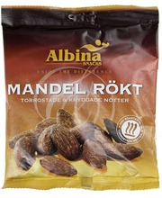 Albina Snacks 220g Paahdettu Manteli