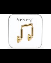 Happy Plugs Earbud nappikuulokkeet, Gold