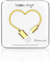 Happy Plugs Lightning - USB kaapeli 2M GOLD