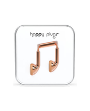 Happy Plugs Earbud nappikuulokkeet, Rose Gold