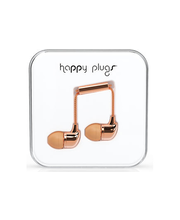 Happy Plugs in-ear nappikuulokkeet, Rose Gold