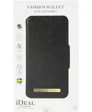 Ideal wallet iphone x black suojakuori