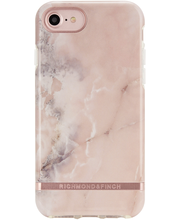 Richmond & Finch suojakuori pinkki/marmori iPhone 6/6S/7/8