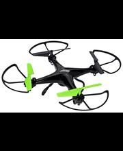 2Fast2Fun Focus Drone XL kamerakopteri, musta