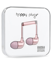 Happy Plugs In-ear Pink Gold
