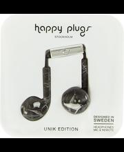 Happy Plugs In-Ear kuulokkeet musta