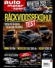 Auto Motor & Sport (Swe) aikakauslehti