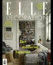 Elle Decoration (Swe) aikakauslehti