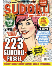 Helgkryss Sudoku aikakauslehti
