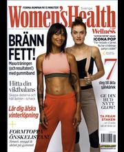 Women´s Health (Swe) aikakauslehdet