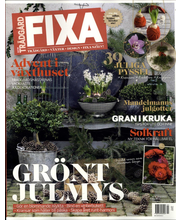 Allt om Trädgård Fixa aikakauslehti