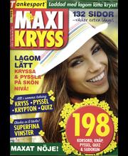 Maxikryss aikakauslehdet