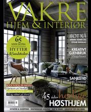 Vakre Hjem & Interior aikakauslehdet