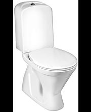 Gustavsberg WC-istuin Nordic³ 3500, piilo S-lukko, istuinkorkeus 430 mm