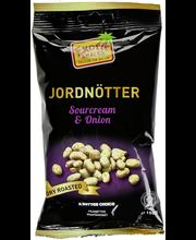 Exotic Snacks 150g Maapähkinä Sourcream & Onion